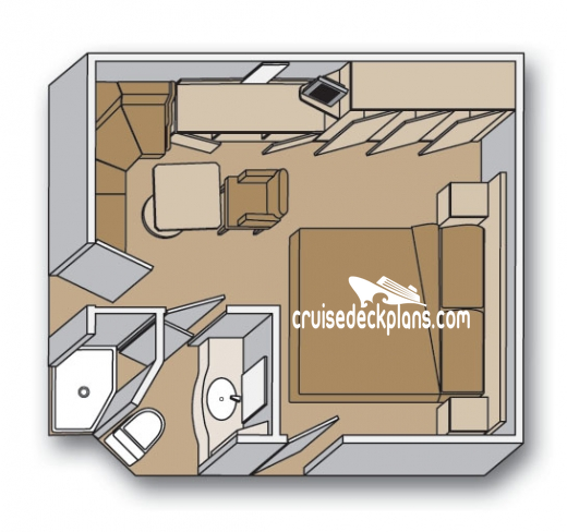 Eurodam Interior Diagram Layout