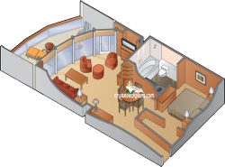 Celebrity Suite diagram