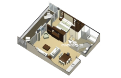 Royal Suite diagram