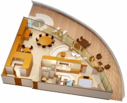 Disney Dream Concierge Royal Suite Stateroom