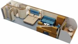 Disney Dream Deck 5 Deck Plan Tour on