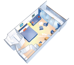 Junior Suite diagram