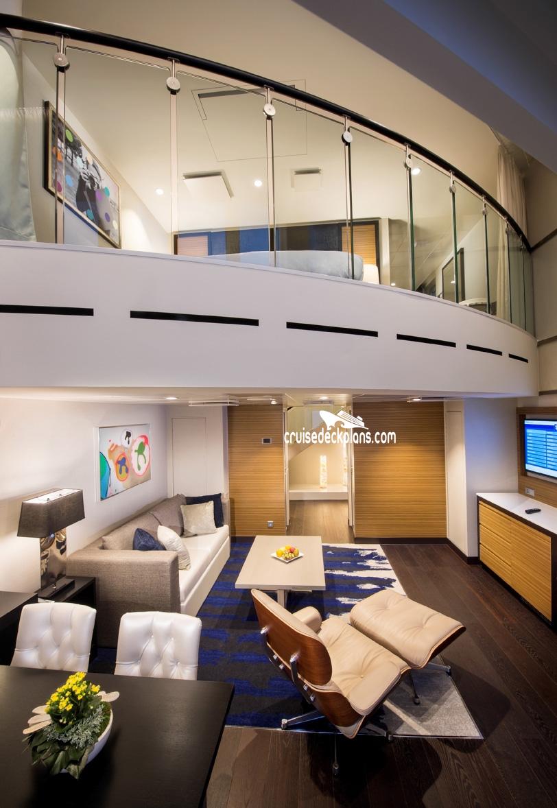 Spectrum Of The Seas Grand Loft Suite Stateroom