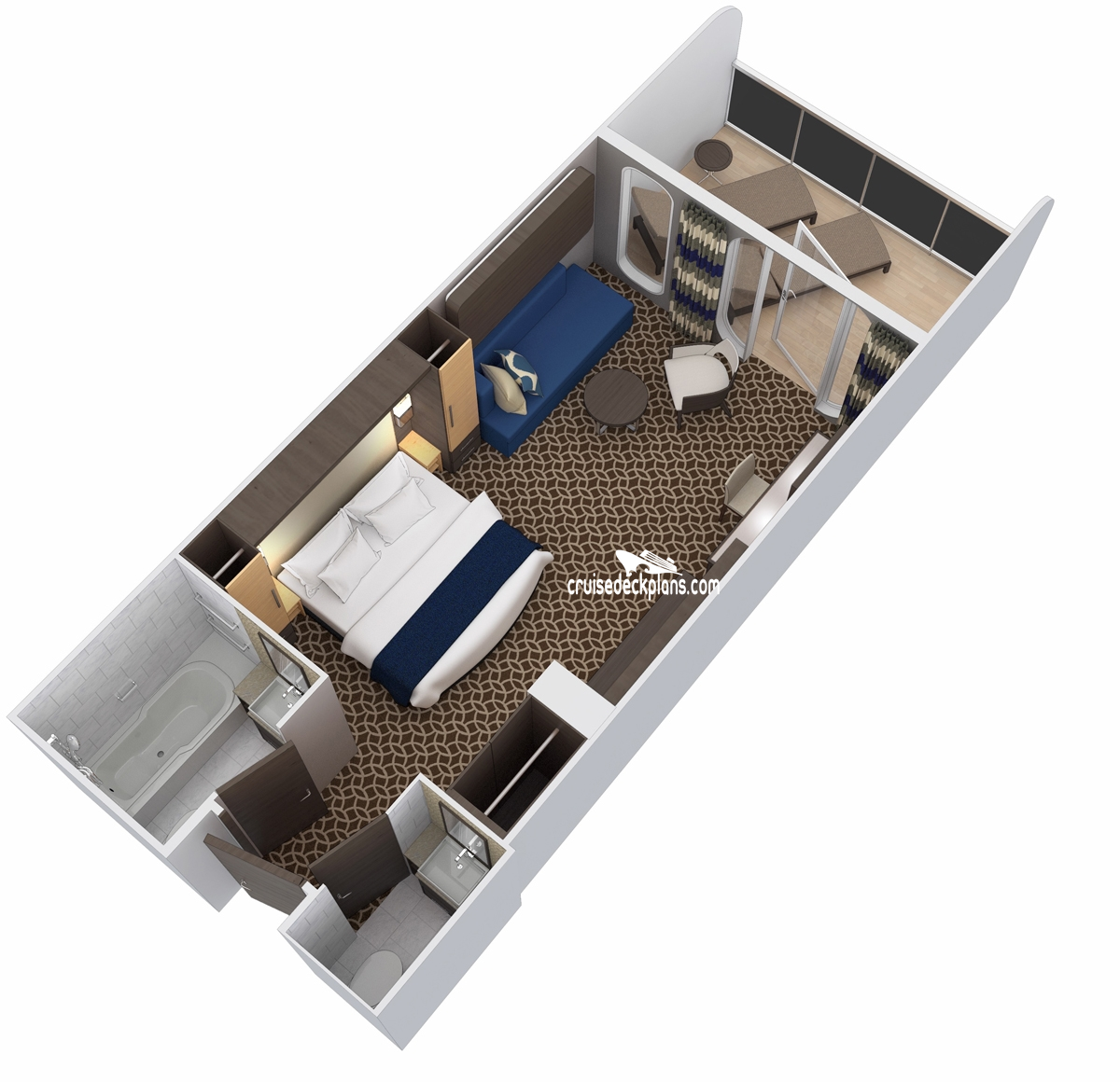 Ovation Of The Seas Family Junior Suite Stateroom