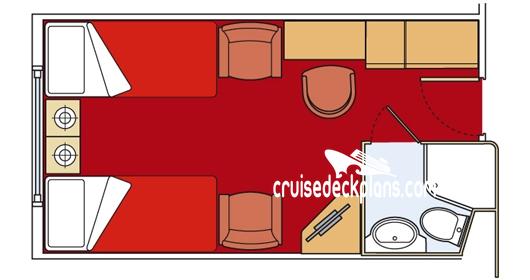 Msc divina oceanview stateroom for Msc divina floor plan