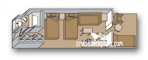 Pacific Aria Balcony Diagram Layout