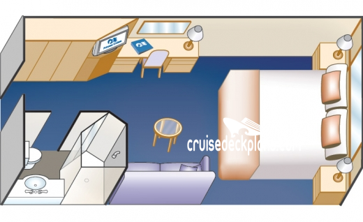 Pacific Princess Interior Diagram Layout