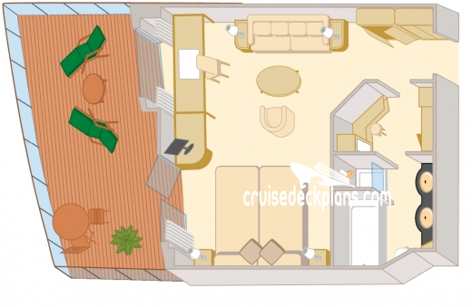 Queen Elizabeth Queens Suite Diagram Layout