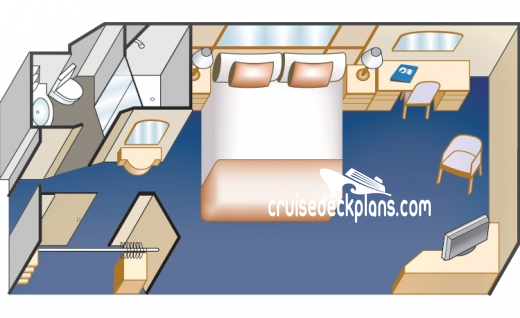 Sea Princess Interior Diagram Layout