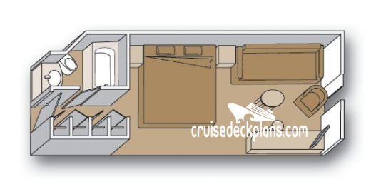Maasdam Lanai Diagram Layout