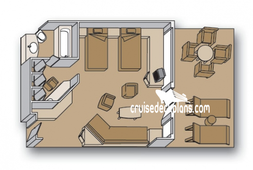 Maasdam Neptune Suite Diagram Layout