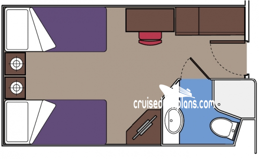 MSC Poesia Interior Diagram Layout