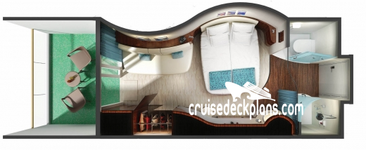 Norwegian Epic Balcony Diagram Layout