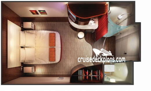 Norwegian Epic Interior Diagram Layout