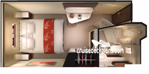 Norwegian Getaway Interior Diagram Layout