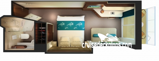 Norwegian Getaway Balcony Diagram Layout