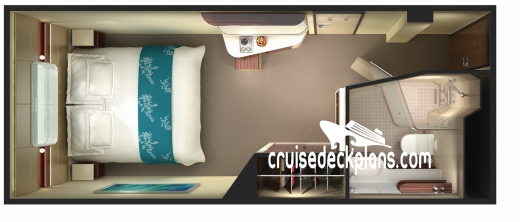 Norwegian Getaway Oceanview Diagram Layout