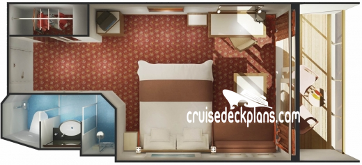 Norwegian Spirit Balcony Diagram Layout