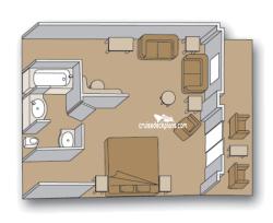 Prinsendam Lido Deck Plan Tour