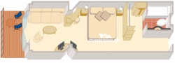 Princess Suite diagram
