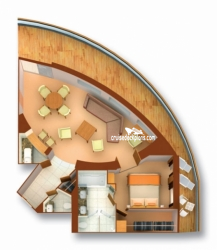 Owner Suite diagram
