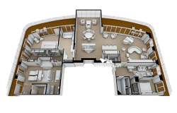 Regent Suite diagram