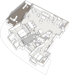 Master Suite diagram