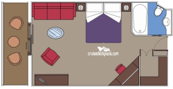 Balcony Suite diagram