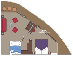 Yacht Club Suite diagram