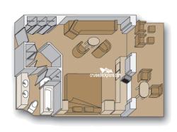 Nieuw Amsterdam Neptune Suite Stateroom