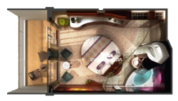 The Haven Courtyard Penthouse diagram