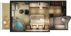 Haven Spa Suite diagram