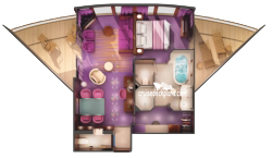 The Haven Deluxe Owners Suite diagram
