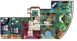 The Haven Garden Villa diagram