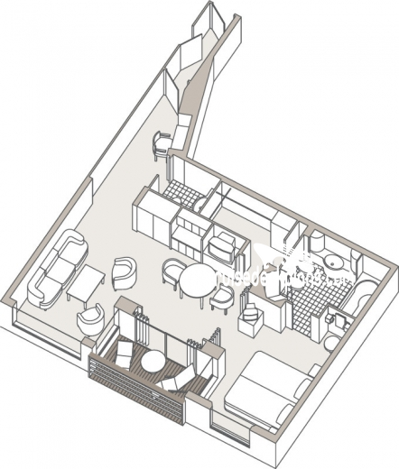 Seven Seas Voyager Voyager Suite Diagram Layout