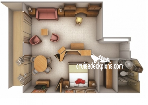 Silver Cloud Silver Suite Diagram Layout