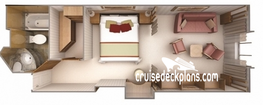 Silver Cloud Vista Suite Diagram Layout