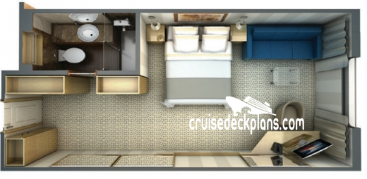 Silver Discoverer View Suite Diagram Layout