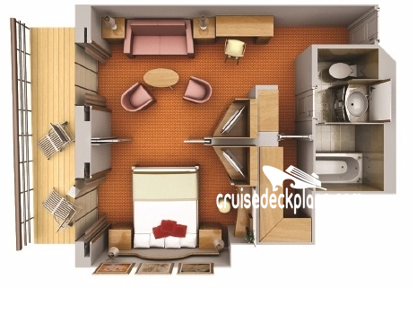 Silver Wind Medallion Suite Diagram Layout
