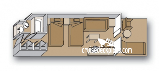 Volendam Vista Diagram Layout