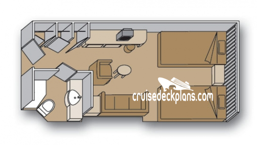 Zaandam Interior Diagram Layout