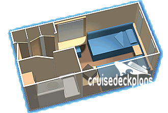 Empress of the Seas Interior Diagram Layout