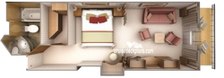 Verandah Suite diagram
