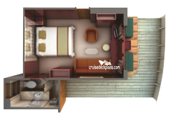 Terrace Suite diagram