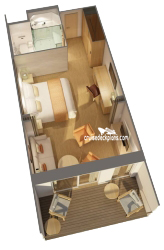Penthouse Junior Suite diagram