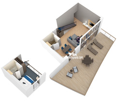 Sky Loft Suite diagram
