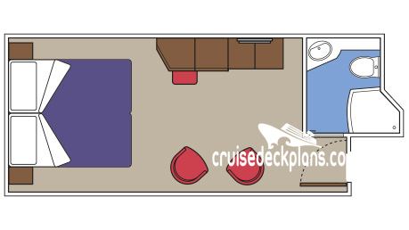 MSC Meraviglia Yacht Club Interior Diagram Layout