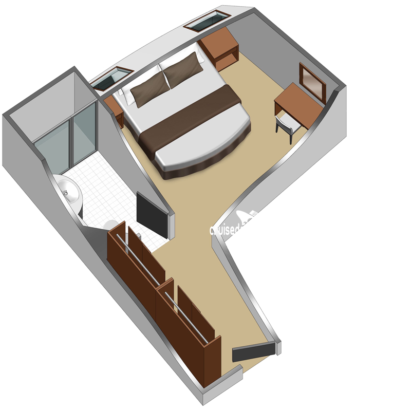 Celebrity Xperience Elite Ocean View Diagram Layout