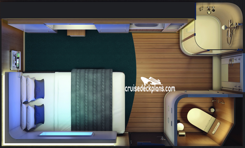 Norwegian Bliss Studio Diagram Layout