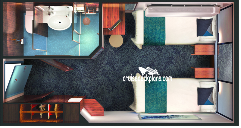 Norwegian Jade Interior Diagram Layout